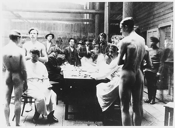 RED ARMY MEDICAL EXAM