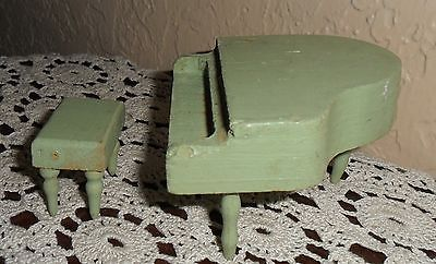 Vintage-Miniature-Doll-House-Dollhouse-Baby-Grand-Piano-_1